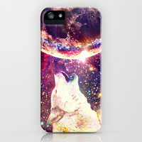 Wolf's tears are falling stars - for iphone iPhone & iPod Case by Simone Morana Cyla