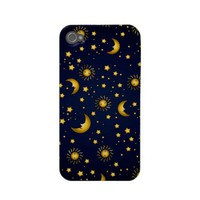 Dark Sky: Dark blue Iphone 4 Cases from Zazzle.com