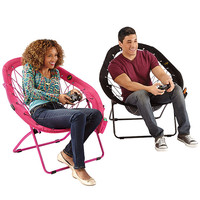 NEW Super-Bungee Chair—New pear shape only from Brookstone!