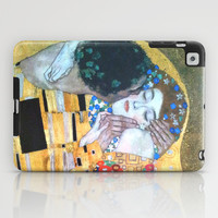 Love & The Kiss - Gustav Klimt iPad Case by BeautifulHomes