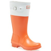 Hunter 'Original Color Block' Rain Boot (Little Kid & Big Kid)