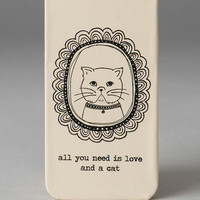 FRAMED CAT IPHONE 5 CASE