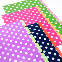 Dot 5 Tab Index Document Folders - See Jane Work