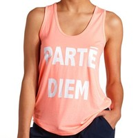 Parte Diem Cut-Out Oversized Tank Top