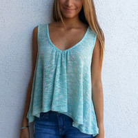 Spring Tank - H. Mint | ZOE Boutique