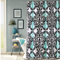 Mia 72-Inch x 72-Inch Shower Curtain