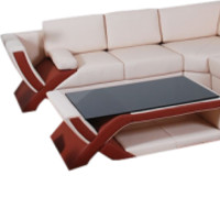 Contemporary Reo Sectional Sofa Set - Opulentitems.com