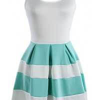 The Mint Colorblock Dress - 29 N Under