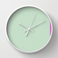 Re-Created Interference ONE No. 11 Wall Clock by Robert S. Lee