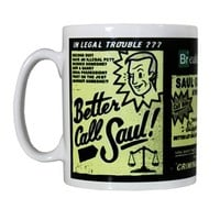 Breaking Bad Better Call Saul Mug - Buy Online at Grindstore.com