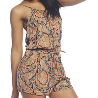 Boho Chic Romper | Wet Seal