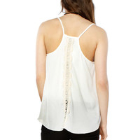 Papaya Clothing Online :: BACK TRIMMING CHIFFON TOP
