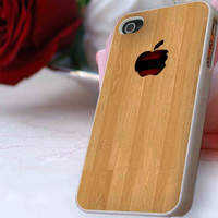 my apple wood case for iPhone 4/4s, iPhone 5/5S/5C, Samsung S3 i9300, Samsung S4 i9500 *ahzacase*