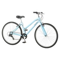 "POPCYCLE - HYBRID BIKE 28"" WM SCHWINN MEDIAN- POWDER BLUE"