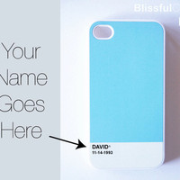 iphone 4 case all colortone custom case put your by BlissfulCASE