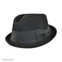 Frank New York New York Diamond Crown Fedora Hat