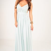 Wherever Love Goes Dress: Light Mint