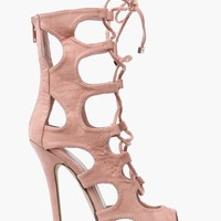 Roma Lace Up Pump