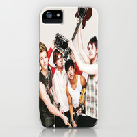 5sos on teen now iPhone & iPod Case by kikabarros