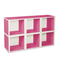 I liked this design on #Fab. Modular Cube Pink Set Of 6