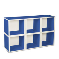 I liked this design on #Fab. Modular Cube Blue Set Of 6