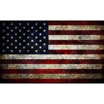 I liked this design on #Fab. Weathered American Flag Decal