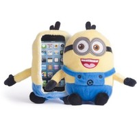 iPlush Despicable Me Yellow Minion Plush Toy CellPhone Case