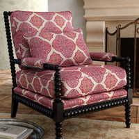 "Massoud - ""Spindle Lace"" Chair - Horchow"