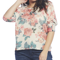 Floral Print Dolman Sleeve Blouse | Wet Seal +