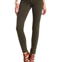 "REFUGE COLORED ""SKIN TIGHT"" DENIM LEGGINGS"