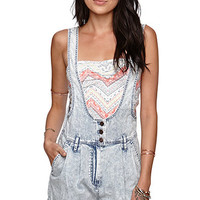Kendall and Kylie Button Front Overalls at PacSun.com