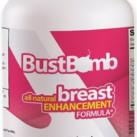 Bustbomb - Breast Enlargement / Bust Enhancement / Acne Treatment Natural Herbal Pills for Women - 90 Capsules - Best Value! Promotional Price!
