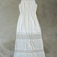 Airy & Lace Maxi Dress [5260] - $42.00 : Vintage Inspired Clothing & Affordable Dresses, deloom | Modern. Vintage. Crafted.