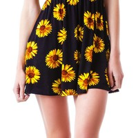 Helianthus Cut Out Dress