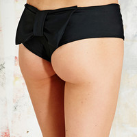 Lolli Original Bow Bikini Briefs in Black - Urban Outfitters