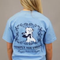 Simply Southern Tee - Blue Lab