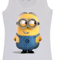 Disney Despicable Me Minions Minion Funny Women Men Vest Tank Top T-Shirt