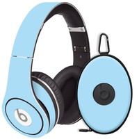 Baby Blue Decal Skin for Beats Studio Headphones & Carrying Case by Dr. Dre