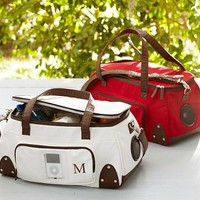 Speaker Duffle Bag with MP3 Player | Pottery Barn