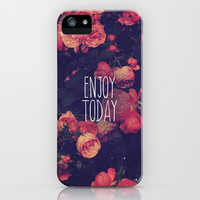 Enjoy Today iPhone & iPod Case by hyakume