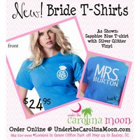 Under The Carolina Moon: Mrs. Monogram Shirt