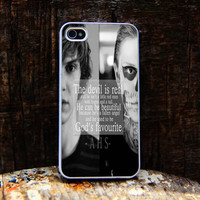 American Horror Story Face iphone 4 case,iphone 4S case,iPhone 5C case,iPhone 5S case,iphone 5 case,samsung s4 case, Samsung s3 case