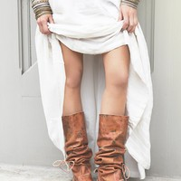 Free People Fiorato Tall Moccasin