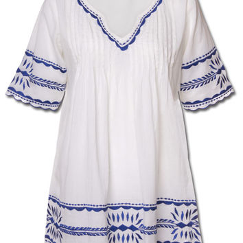 Hippie Peasant Top: Soul Flower Clothing