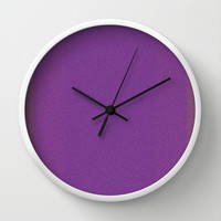 Re-Created Interference ONE No. 16 Wall Clock by Robert S. Lee