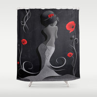Sensual Victoria Shower Curtain by LouJah | Society6
