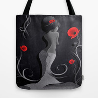 Sensual Victoria Tote Bag by LouJah | Society6