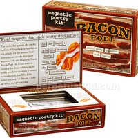 BACON POET MAGNETIC POETRY KIT