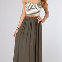 Casual Long Spaghetti Strap Dress