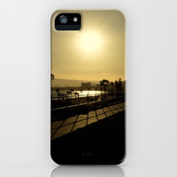 Sunshine and Silhouettes iPhone & iPod Case by RichCaspian | Society6